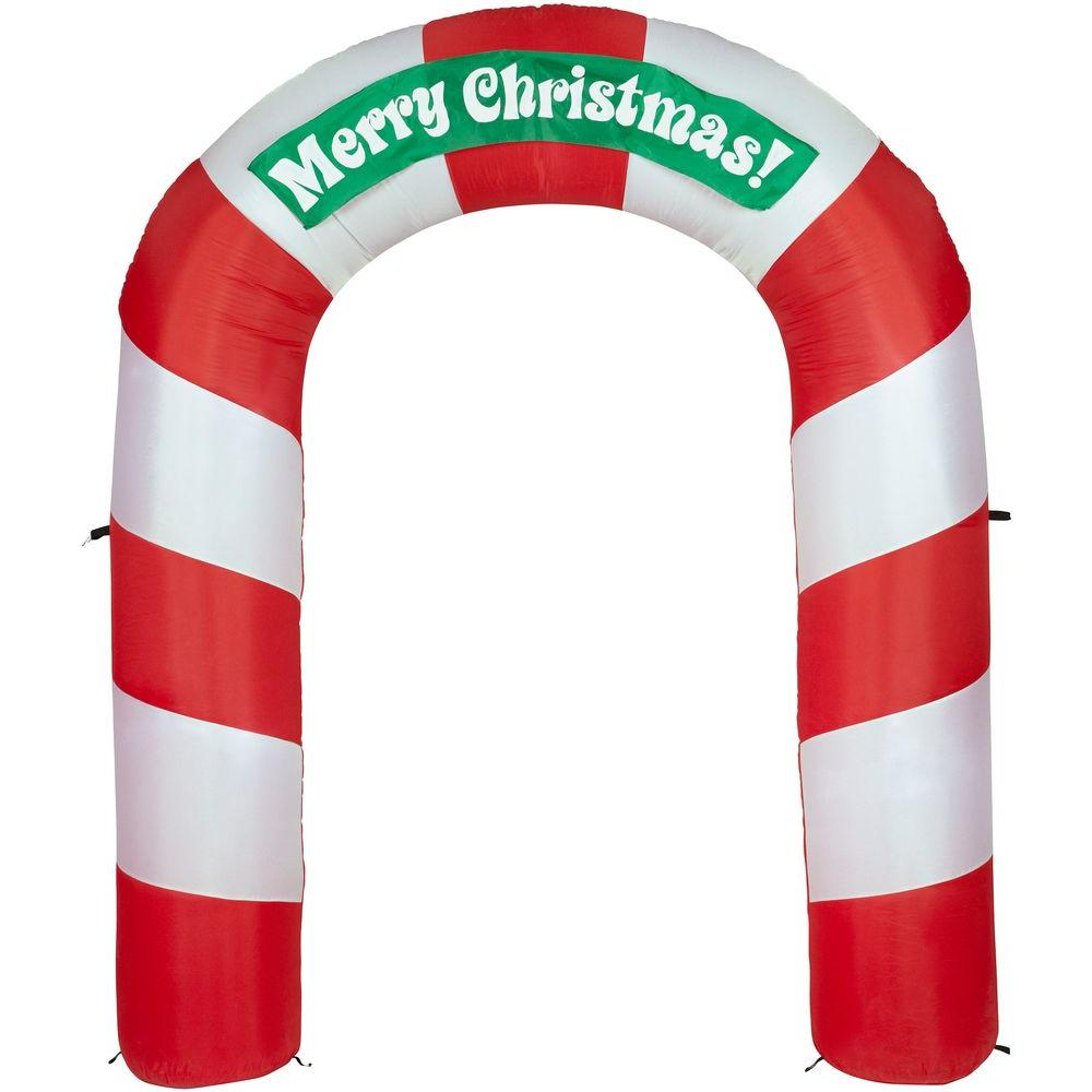 Gemmy Gemmy 7.5 ft. H Inflatable Merry Christmas Archway