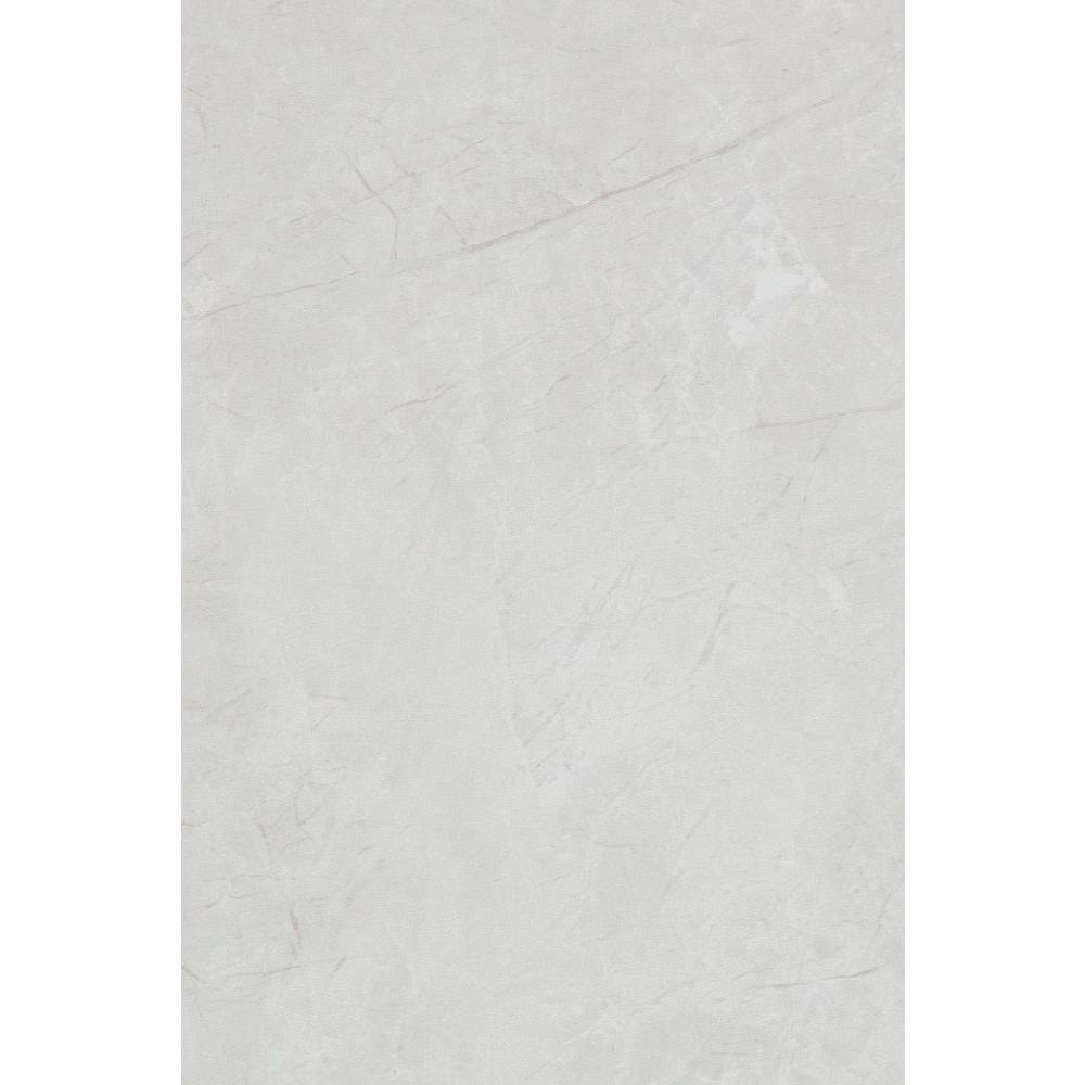 Delray White 8 in. x 12 in. Ceramic Wall Tile
