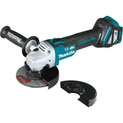 18-Volt Brushless 4-1/2 in. / 5 in. Cordless Paddle Switch Cut-Off/Angle Grinder with Electric Brake and AWS (Tool Only)