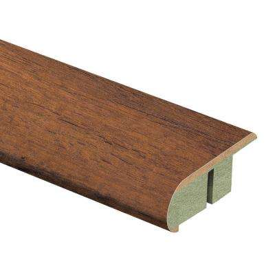 Dark Oak 3/4 in. Thick x 2-1/8 in. Wide x 94 in. Length Laminate Stair Nose Molding