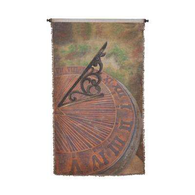 "Multicolor ""Sundial"" Wall Tapestry"