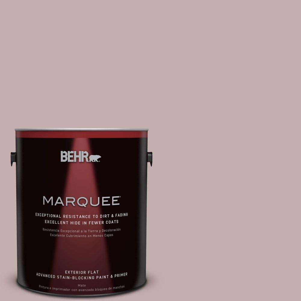BEHR MARQUEE 1-gal. #MQ1-45 Versailles Rose Flat Exterior Paint