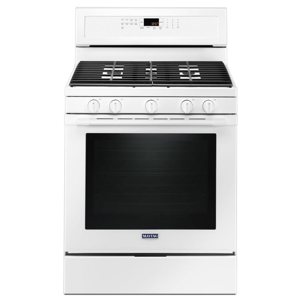 Samsung 30 in 58 cu ft Single Oven Gas Range in Stainless