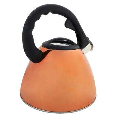 Clarendon 2.6 Qt. Whistling Tea Kettle