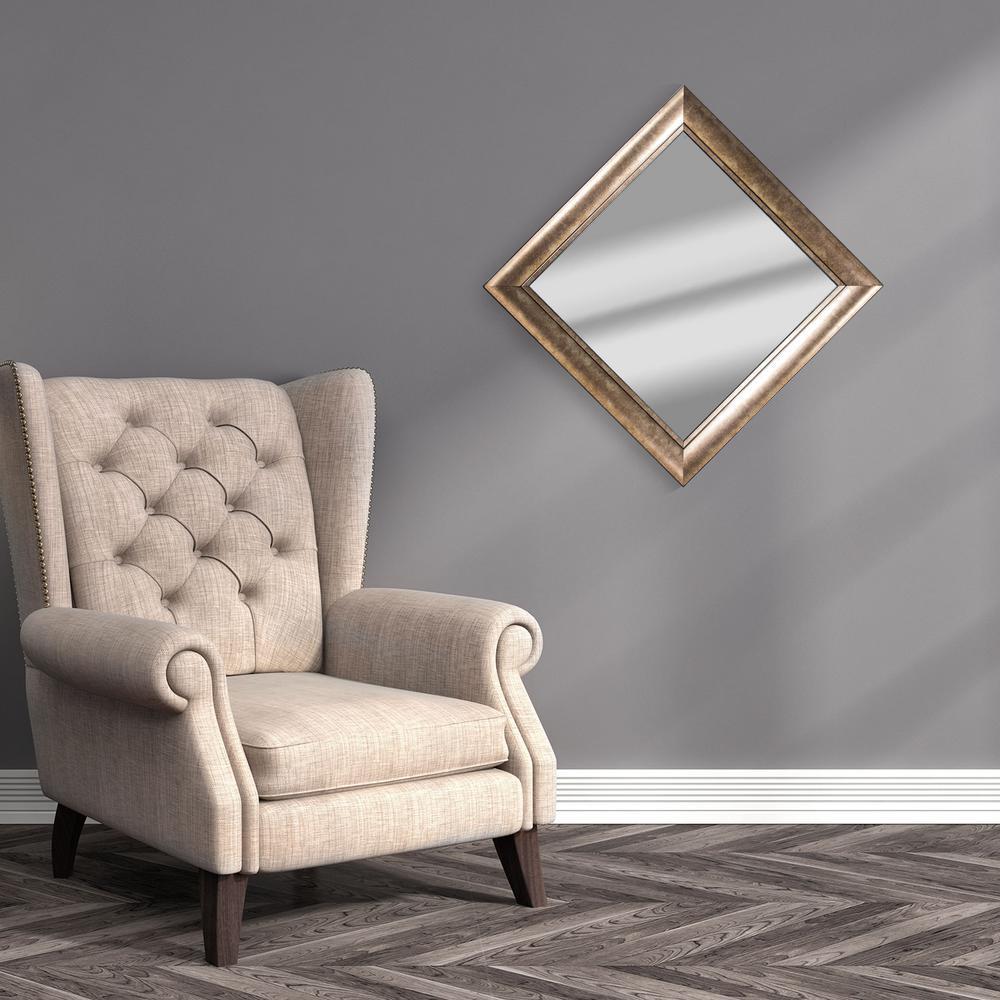 Hartley Square Gold Vanity Mirror