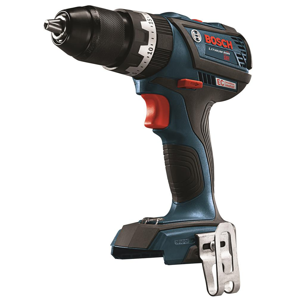 18-Volt 1/2 in. Cordless EC Brushless Compact Tough Drill/Driver