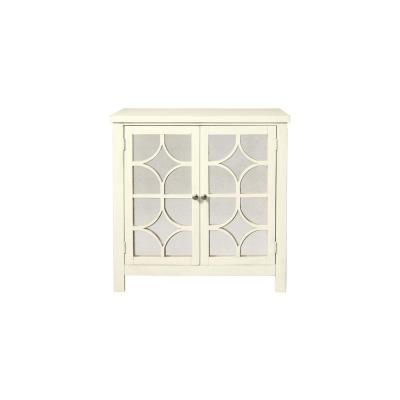 Harlow Antique White Accent Chest