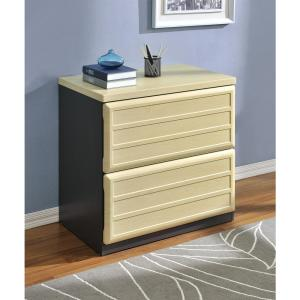 Altra Furniture Pursuit Natural and Gray File Cabinet-9522096 ...