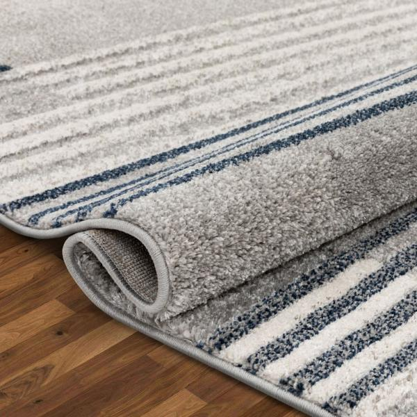 Well Woven Lisbon Linea Contemporary Gradient Distressed Grey Blue 7 Ft 10 In X 9 Ft 10 In Area Rug Lis 57 7 The Home Depot