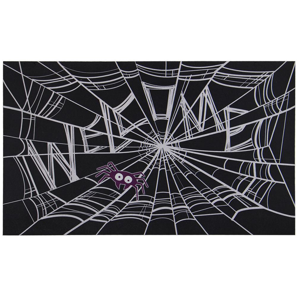 Welcome Web 18 in. x 30 in. Door Mat