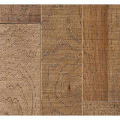 Hickory Capistrano 3/8 in. T x 6-1/2 in. W x Varying Length Engineered Click Hardwood Flooring (945.50 sq. ft. / pallet)
