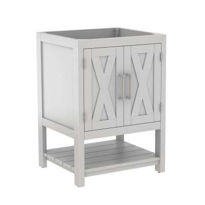 Conington 24 in. W x 21.5 in. D x 34 in. H Bath Vanity Cabinet Only in White