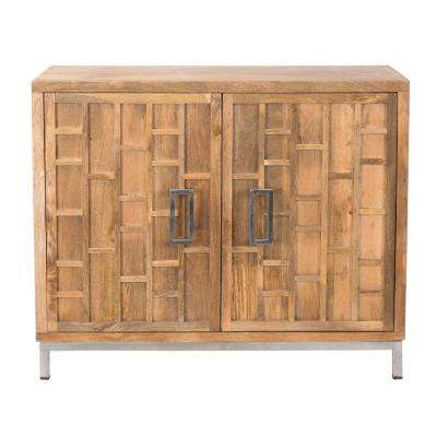 brighton collection solid mango accent cabinet