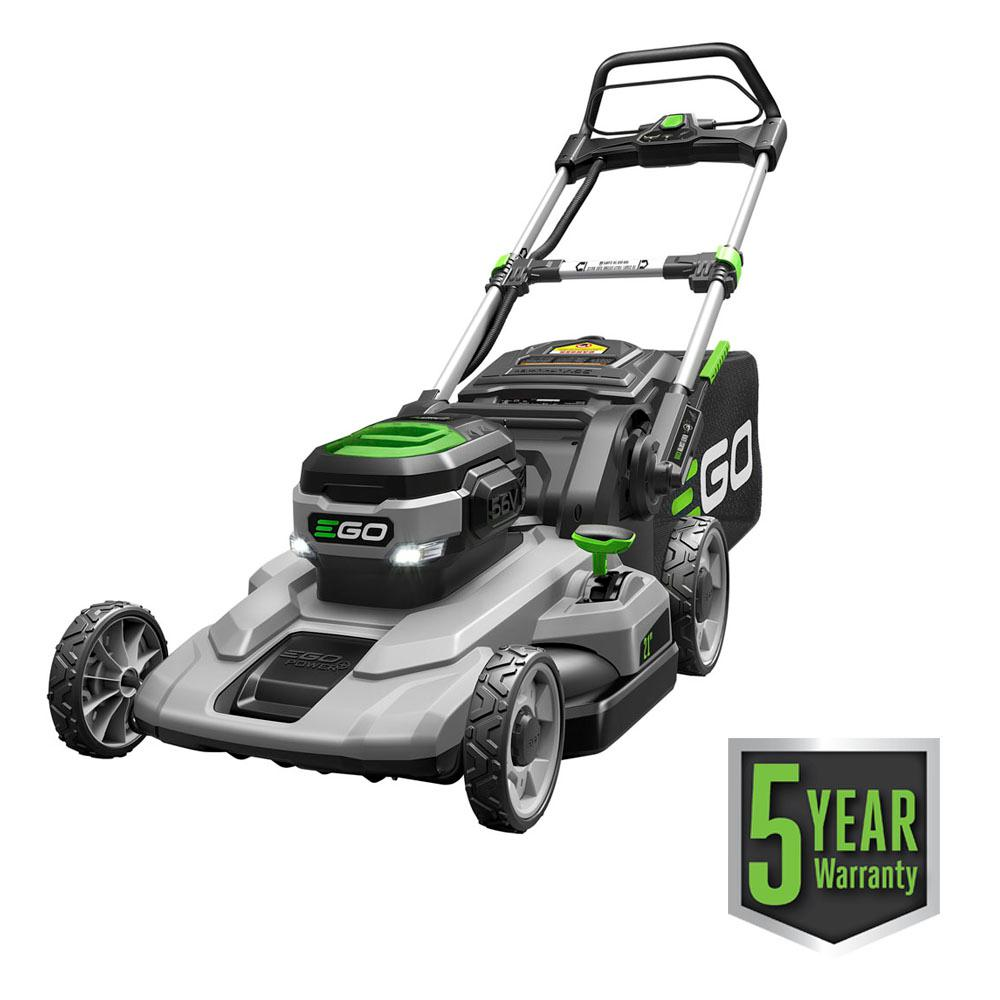 EGO 21 in. 56-Volt Lithium-ion Cordless Battery Walk Behind Push ...