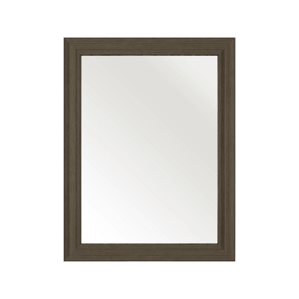 Cutler Kitchen & Bath 30 in. L x 23 in. W Framed Wall Mirror in ...