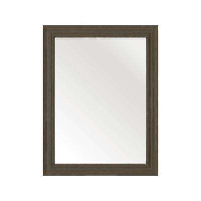 30 in. L x 23 in. W Framed Wall Mirror in Spring Blossom