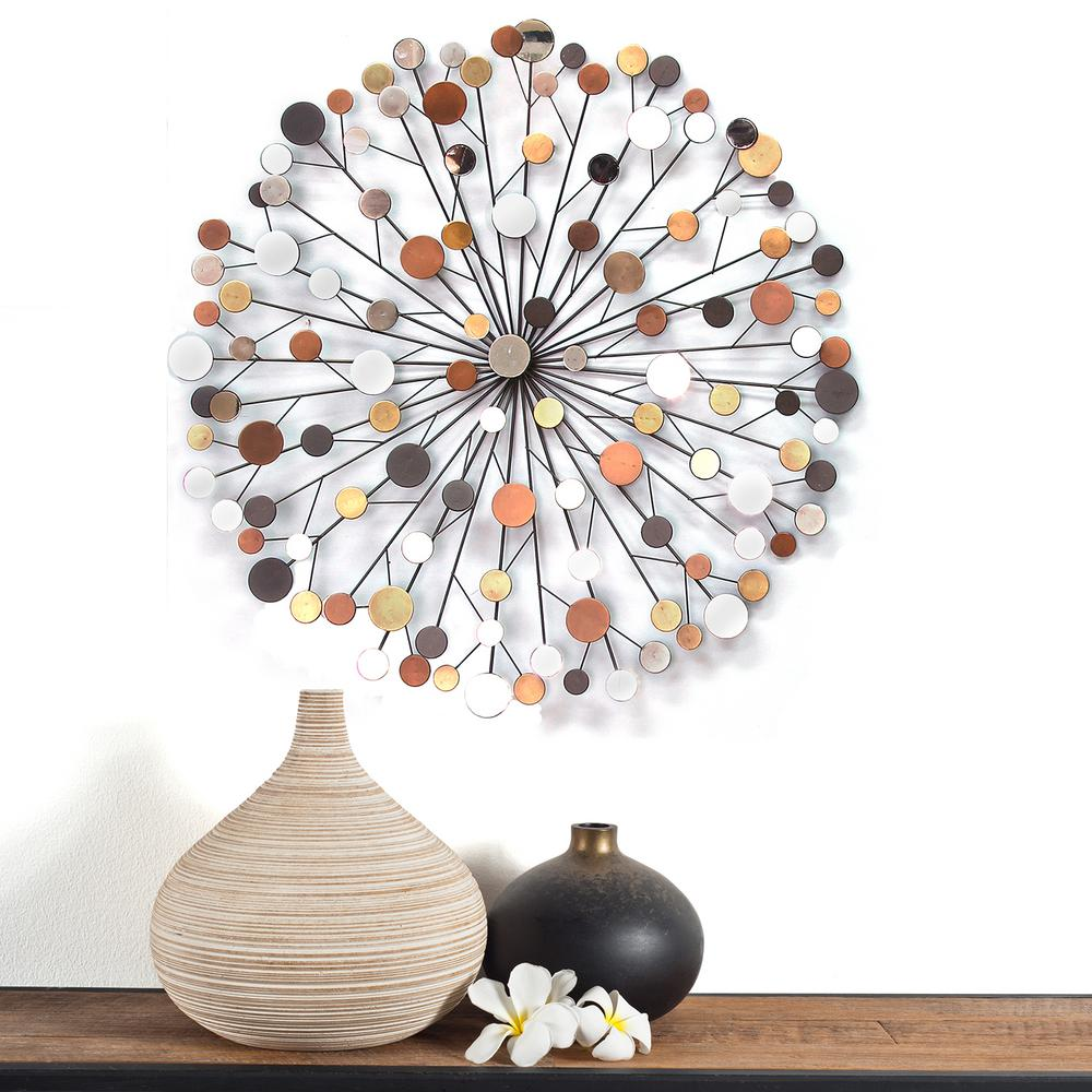 Merveilleux Stratton Home Decor Stratton Home Decor Multi Colored Starburst Wall Decor