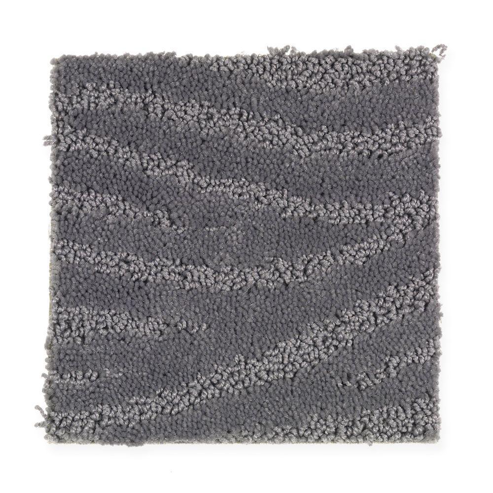 Carpet Sample - Typhoon - Color Nightshade Pattern 8 in x 8 in