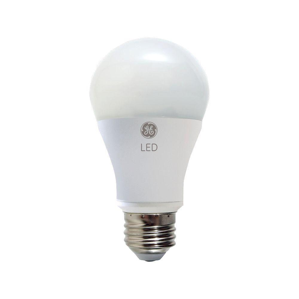 GE 60W Equivalent Soft White  A19 Dimmable LED Light Bulb (3-Pack)