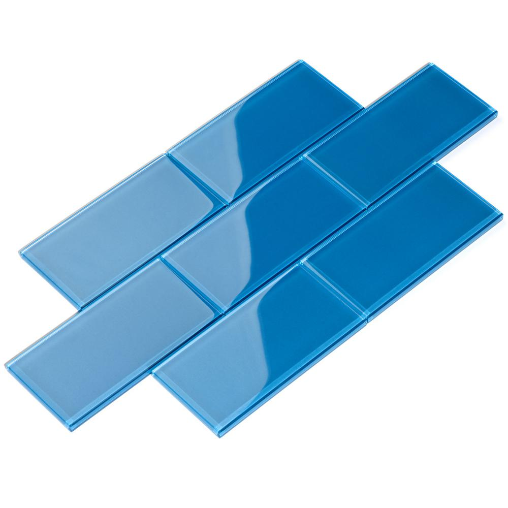 X 8mm Gl Subway Tile