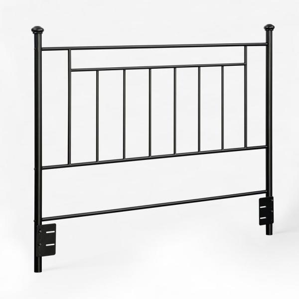 Dorel Living Harrold Black Full/Queen Metal Headboard FH3151-BK