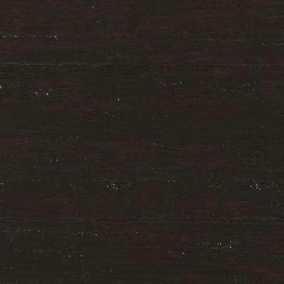 Take Home Sample - Hand Scraped Strand Woven Berkshire Click Bamboo Flooring - 5 in. x 7 in.