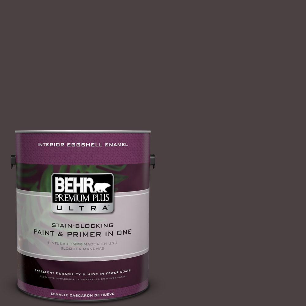 BEHR Premium Plus Ultra Home Decorators Collection 1-gal. #HDC-AC-26 Sarsaparilla Eggshell Enamel Interior Paint