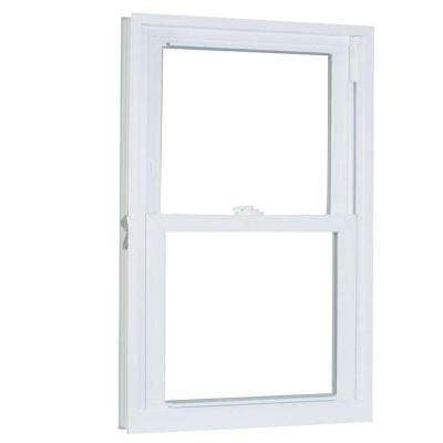 29.75 in. x 65.25 in. 70 Series Double Hung Buck PRO Vinyl Window - White