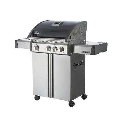 Triumph 410 Propane Gas Grill with Side Burner