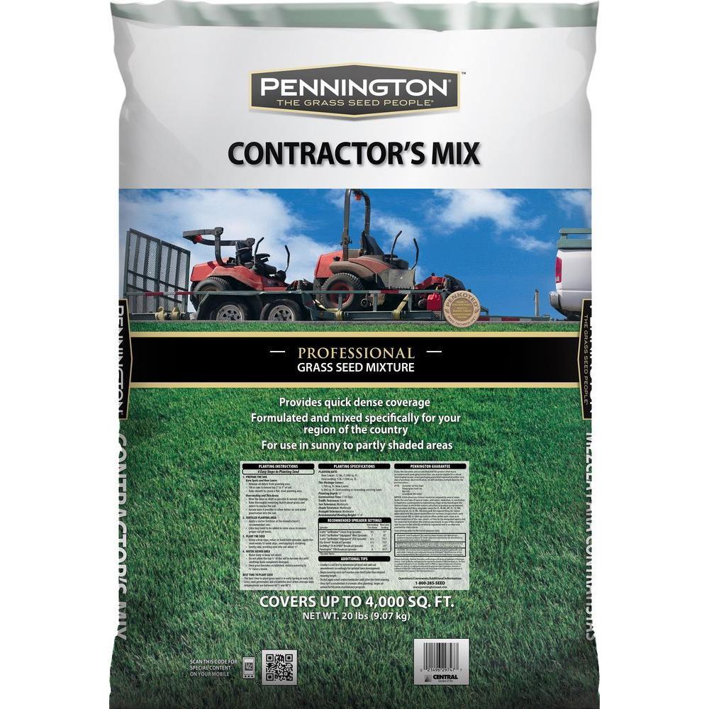 20 lbs. Central Contractors Blend Mix
