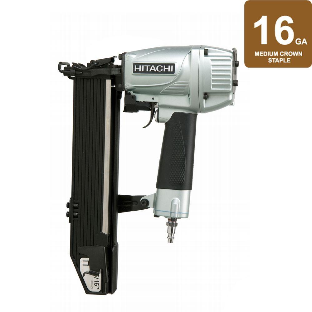 Hitachi 2 in. x 16-Gauge Wide 15/16 in. Crown Stapler