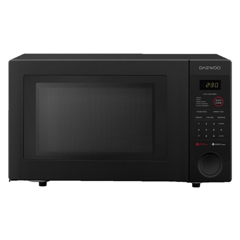 DAEWOO 1.1 cu. ft. Countertop Microwave in Black