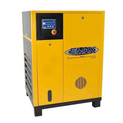 Premium Series 15 HP 230-Volt 3-Phase Stationary Electric Variable Speed Rotary Screw Air Compressor