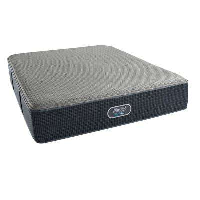 Hybrid Sierra Point King Plush Low Profile Mattress Set