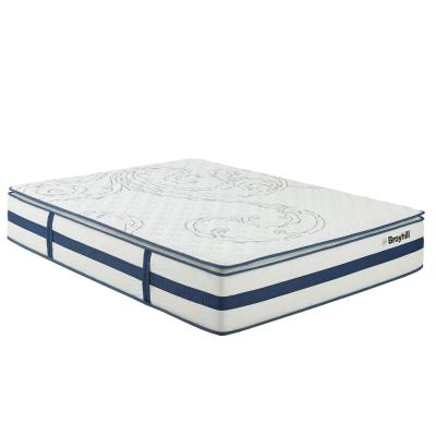 Natural Spring Sapphire 13 in. Queen Gloster Euro Top Hybrid Mattress