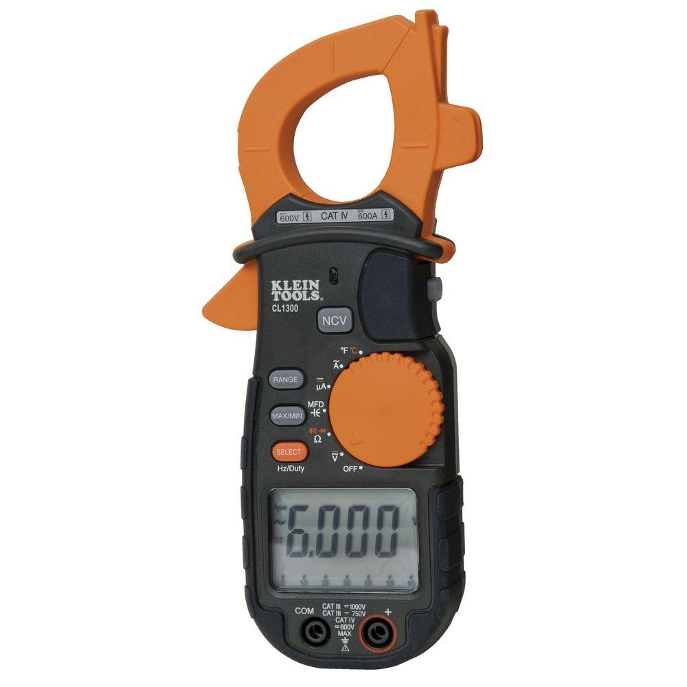 Klein Tools 600-Amp AC Clamp Meter with Temperature