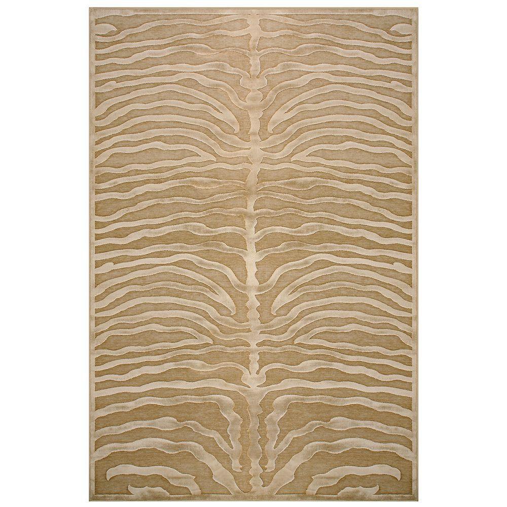 Feizy Saphir Ivory 7 ft. 6 in. x 10 ft. 6 in. Indoor Area Rug