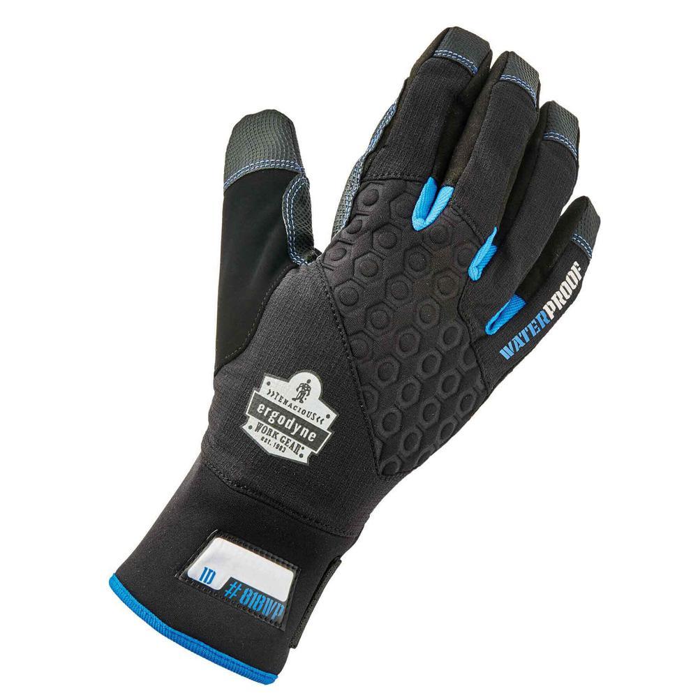 ProFlex X-Large Black Performance Thermal Waterproof Utility Gloves
