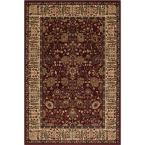 Persian Classics Vase Red 8 ft. x 11 ft. Area Rug