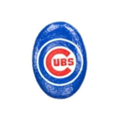 Chicago Cubs 3 in. x 2 in. Decorative Garden Rock