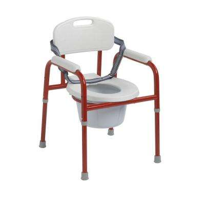 Pinniped Pediatric Commode in Red