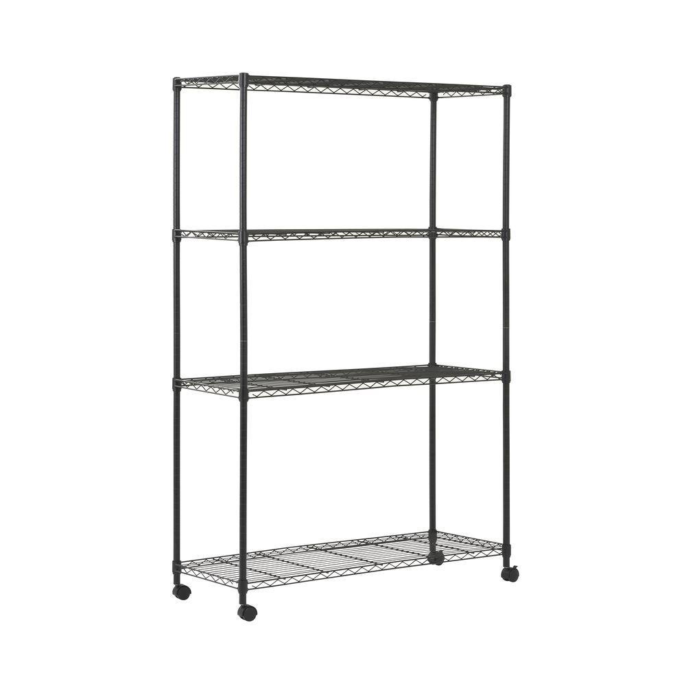 Trinity 5 Tier Outdoor Wire 48 In X 18 72 Shelving Rack Leviton 280 Home Wiring Diagram H W D