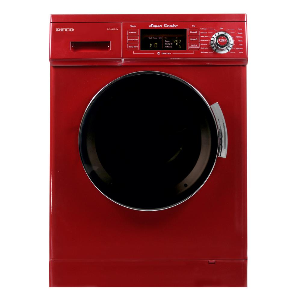 Deco 1 6 Cu Ft All In One Compact Combo Washer And