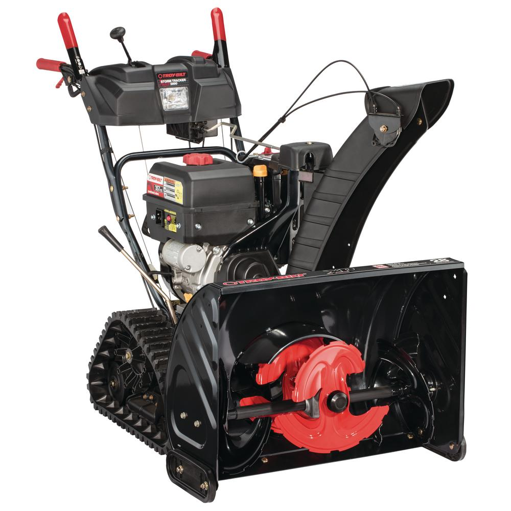 Troy Bilt XP 28 in. 357 cc 3-Stage Gas Snow Blower with Electric Start, Track Drive and Electronic 4-Way Chute Control