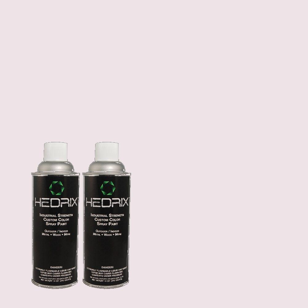 Hedrix 11 oz. Match of 660C-1 Bubble Bath Low Lustre Custom Spray Paint (2-Pack)