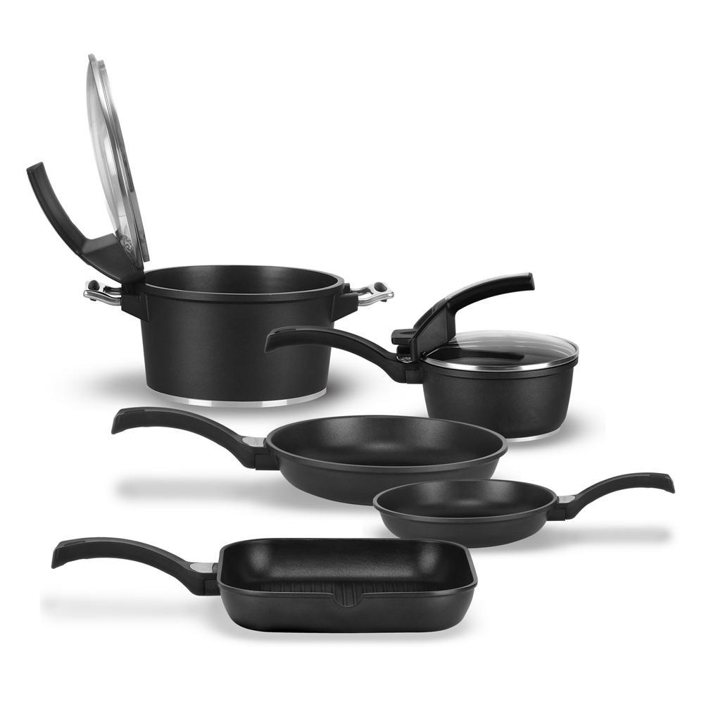 Suprema 7-Piece Cast Aluminum Cookware Set
