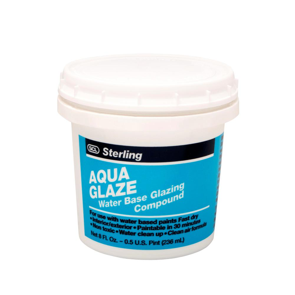 Black Window Glazing Putty : Sterling qt aqua glaze water based glazing compound