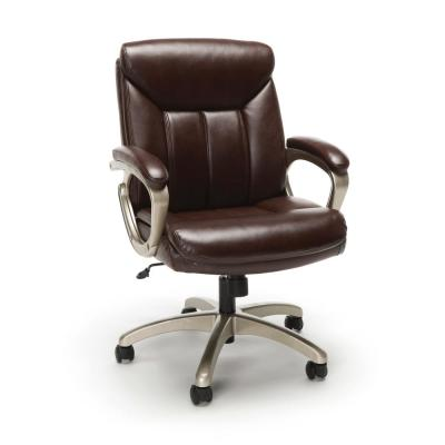 Essentials Collection Brown Executive Office Chair