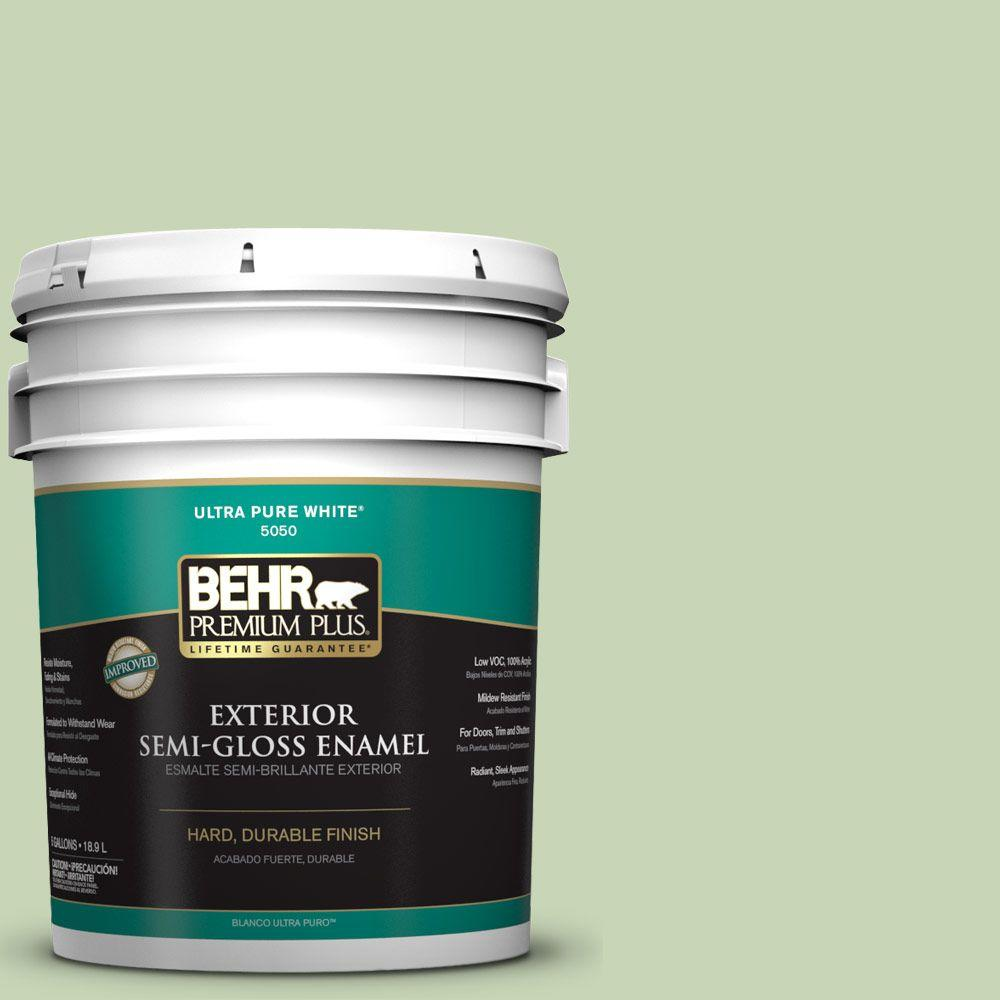 5-gal. #M370-3 Spice Garden Semi-Gloss Enamel Exterior Paint