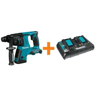 18-Volt 1 in. X2 LXT Lithium-Ion 36-Volt Rotary Hammer Tool-Only with Bonus 18-Volt LXT Lithium-Ion Dual Port Charger